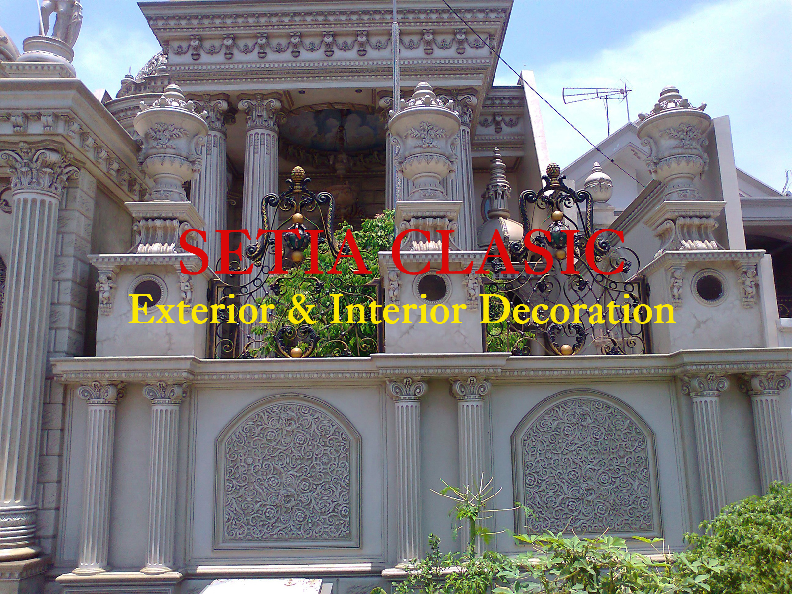 karya terbaru eksterior dan interior bangunan klasik
