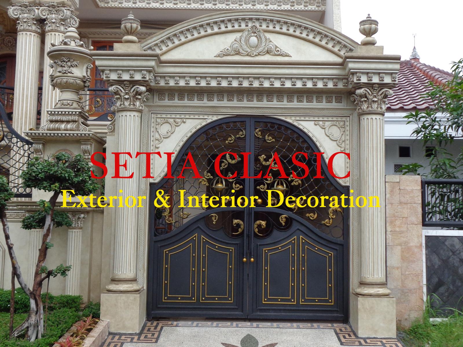 Karya Terbaru Eksterior Bangunan Bergaya Klasik Foto Setia Clasic