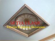 Plafon Dome Ukir