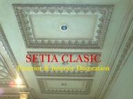 Plafon Classic Sederhana